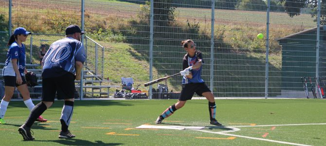 Kangaroos tragen Softballturnier der Rhein-Neckar-Liga aus